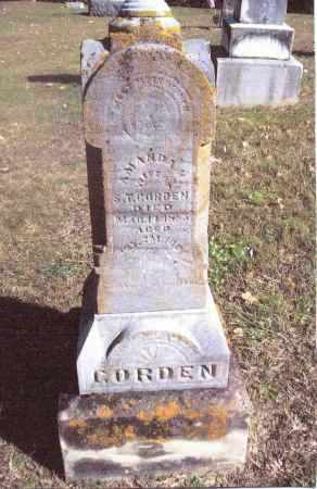 GORDON, AMANDA H. - Gallia County, Ohio | AMANDA H. GORDON - Ohio Gravestone Photos
