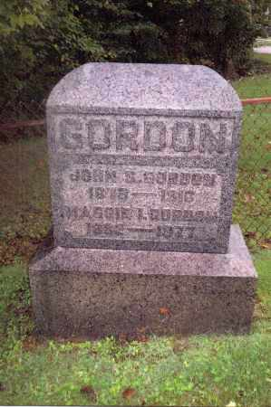GORDON, MAGGIE - Gallia County, Ohio | MAGGIE GORDON - Ohio Gravestone Photos