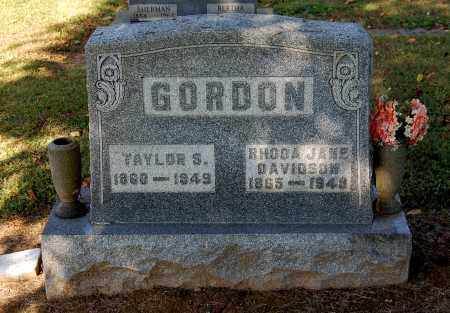 GORDON, RHODA JANE - Gallia County, Ohio | RHODA JANE GORDON - Ohio Gravestone Photos