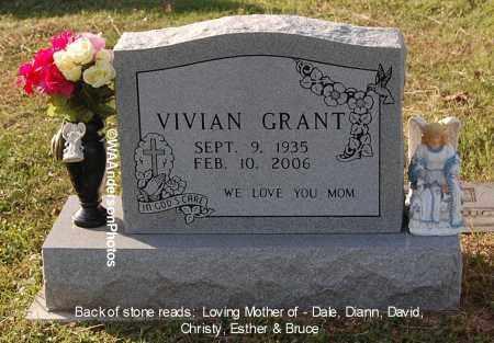 GRANT, VIVIAN - Gallia County, Ohio | VIVIAN GRANT - Ohio Gravestone Photos
