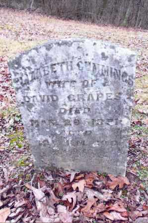 CUMMINGS GRAPES, ELIZABETH - Gallia County, Ohio | ELIZABETH CUMMINGS GRAPES - Ohio Gravestone Photos