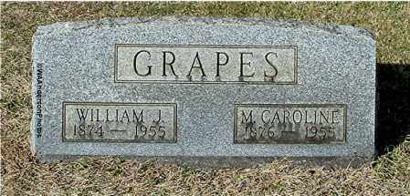 GRAPES, WILLIAM J - Gallia County, Ohio | WILLIAM J GRAPES - Ohio Gravestone Photos