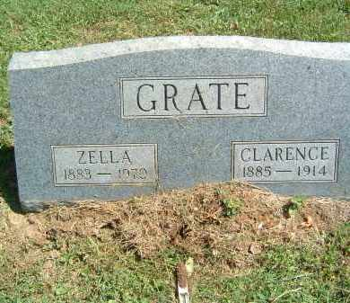 GRATE, ZELLA - Gallia County, Ohio | ZELLA GRATE - Ohio Gravestone Photos