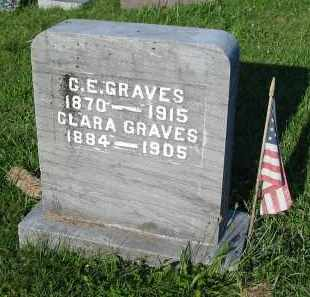 GRAVES, CLARA - Gallia County, Ohio | CLARA GRAVES - Ohio Gravestone Photos