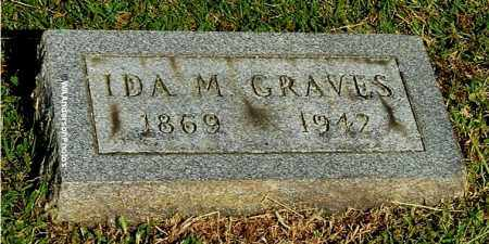 GRAVES, IDA M - Gallia County, Ohio | IDA M GRAVES - Ohio Gravestone Photos
