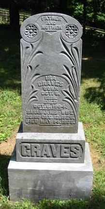 GRAVES, SARAH J. - Gallia County, Ohio | SARAH J. GRAVES - Ohio Gravestone Photos