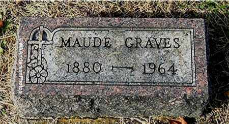 GRAVES, MAUDE - Gallia County, Ohio | MAUDE GRAVES - Ohio Gravestone Photos