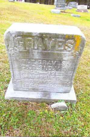 GRAVES, WILLIAM T. - Gallia County, Ohio | WILLIAM T. GRAVES - Ohio Gravestone Photos