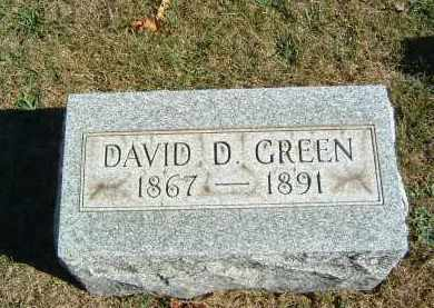 GREEN, DAVID D. - Gallia County, Ohio | DAVID D. GREEN - Ohio Gravestone Photos