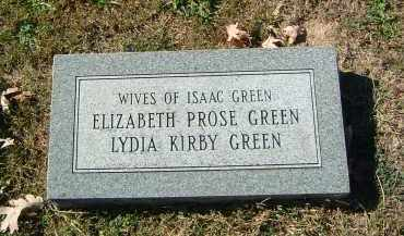 GREEN, ELIZABETH - Gallia County, Ohio | ELIZABETH GREEN - Ohio Gravestone Photos