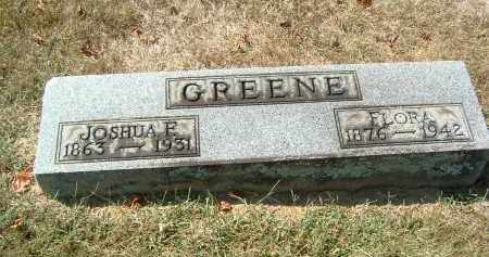 GREENE, FLORA - Gallia County, Ohio | FLORA GREENE - Ohio Gravestone Photos