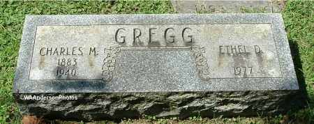 GREGG, ETHEL D - Gallia County, Ohio | ETHEL D GREGG - Ohio Gravestone Photos