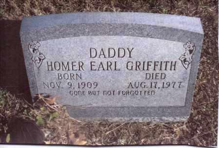 GRIFFITH, HOMER EARL - Gallia County, Ohio | HOMER EARL GRIFFITH - Ohio Gravestone Photos
