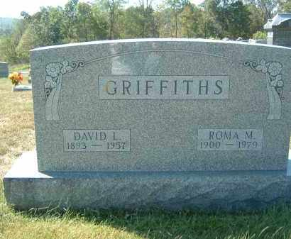 GRIFFITHS, ROMA M. - Gallia County, Ohio | ROMA M. GRIFFITHS - Ohio Gravestone Photos