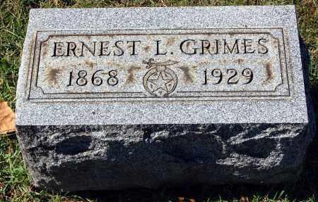 GRIMES, ERNEST L. - Gallia County, Ohio | ERNEST L. GRIMES - Ohio Gravestone Photos