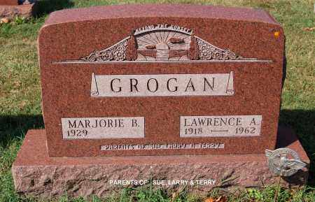 GROGAN, MARJORIE B. - Gallia County, Ohio | MARJORIE B. GROGAN - Ohio Gravestone Photos