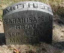 GROVE, SARAH - Gallia County, Ohio | SARAH GROVE - Ohio Gravestone Photos