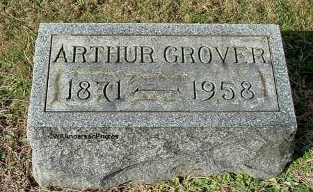 GROVER, ARTHUR - Gallia County, Ohio | ARTHUR GROVER - Ohio Gravestone Photos