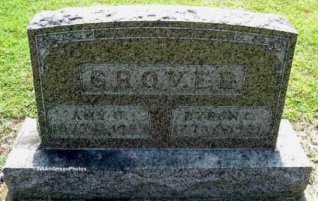 GROVER, AMY U GROVER - Gallia County, Ohio | AMY U GROVER GROVER - Ohio Gravestone Photos