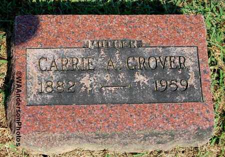GROVER, CARRIE A - Gallia County, Ohio | CARRIE A GROVER - Ohio Gravestone Photos