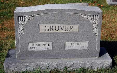 GROVER, CLARENCE - Gallia County, Ohio | CLARENCE GROVER - Ohio Gravestone Photos