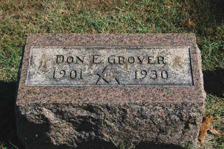 GROVER, DON E. - Gallia County, Ohio | DON E. GROVER - Ohio Gravestone Photos