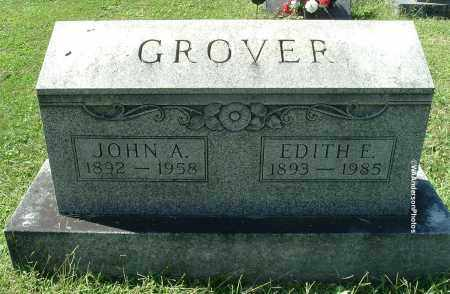 GROVER, JOHN A - Gallia County, Ohio | JOHN A GROVER - Ohio Gravestone Photos