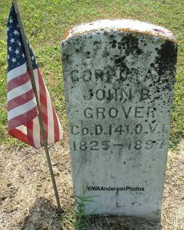 GROVER, JOHN B - Gallia County, Ohio | JOHN B GROVER - Ohio Gravestone Photos