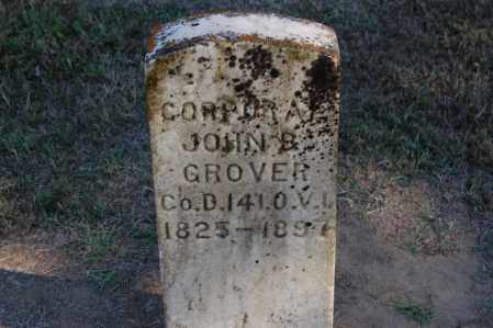 GROVER, JOHN B. - Gallia County, Ohio | JOHN B. GROVER - Ohio Gravestone Photos