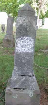 GROVER, JOHN P. - Gallia County, Ohio | JOHN P. GROVER - Ohio Gravestone Photos