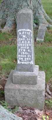 GROVER, KATIE M. - Gallia County, Ohio | KATIE M. GROVER - Ohio Gravestone Photos