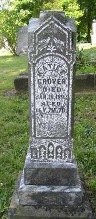 GROVER, KATIE E. - Gallia County, Ohio | KATIE E. GROVER - Ohio Gravestone Photos