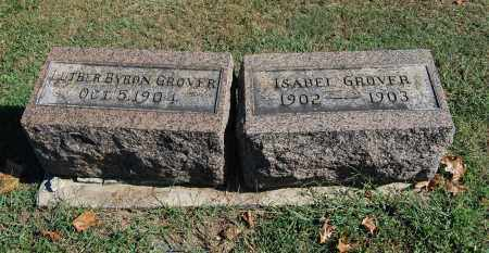 GROVER, ISABEL - Gallia County, Ohio | ISABEL GROVER - Ohio Gravestone Photos