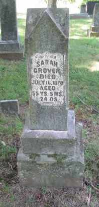 GROVER, SARAH - Gallia County, Ohio | SARAH GROVER - Ohio Gravestone Photos