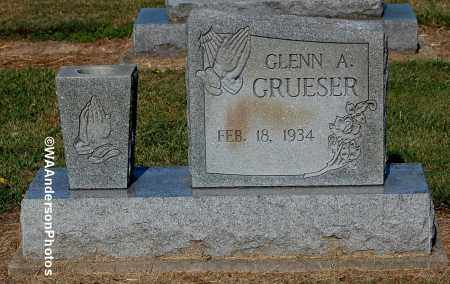 GRUESER, GLENN A - Gallia County, Ohio | GLENN A GRUESER - Ohio Gravestone Photos