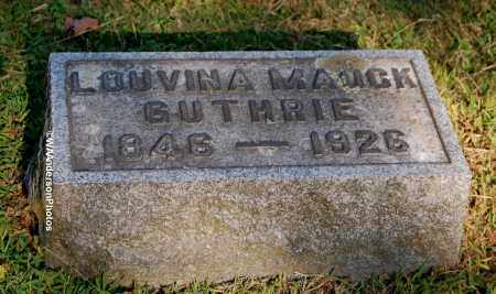 GUTHRIE, LOUVINA - Gallia County, Ohio | LOUVINA GUTHRIE - Ohio Gravestone Photos