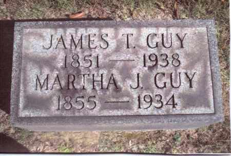 GUY, MARTHA J. - Gallia County, Ohio | MARTHA J. GUY - Ohio Gravestone Photos