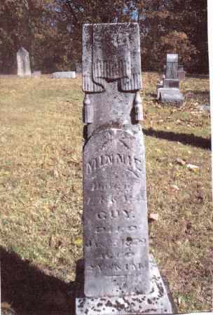 GUY, MINNIE - Gallia County, Ohio | MINNIE GUY - Ohio Gravestone Photos