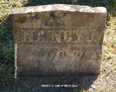 GUY, NANCY J - Gallia County, Ohio | NANCY J GUY - Ohio Gravestone Photos