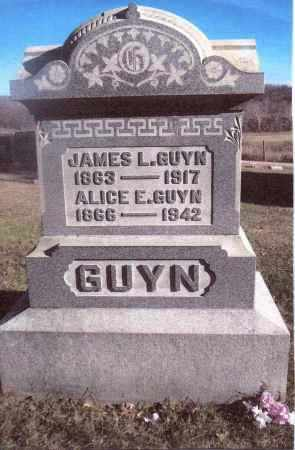 GUYN, JAMES L. - Gallia County, Ohio | JAMES L. GUYN - Ohio Gravestone Photos