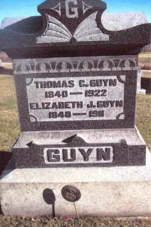 GUYN, THOMAS - Gallia County, Ohio | THOMAS GUYN - Ohio Gravestone Photos