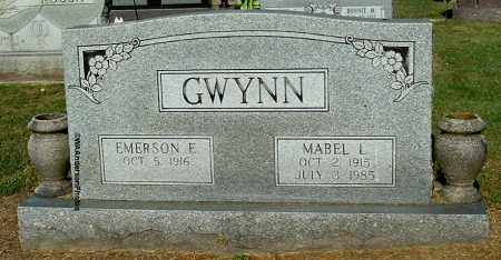 GWYNN, MABEL L - Gallia County, Ohio | MABEL L GWYNN - Ohio Gravestone Photos