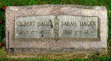 HAGER, GILBERT - Gallia County, Ohio | GILBERT HAGER - Ohio Gravestone Photos