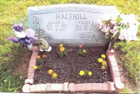 HALFHILL, ALZADA L. - Gallia County, Ohio | ALZADA L. HALFHILL - Ohio Gravestone Photos