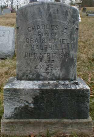 HALFHILL, CHARLES - Gallia County, Ohio | CHARLES HALFHILL - Ohio Gravestone Photos