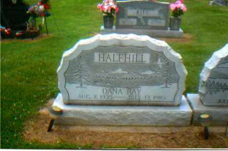 HALFHILL, DANA RAY - Gallia County, Ohio | DANA RAY HALFHILL - Ohio Gravestone Photos