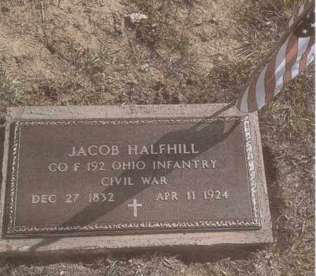 HALFHILL, JACOB - Gallia County, Ohio | JACOB HALFHILL - Ohio Gravestone Photos