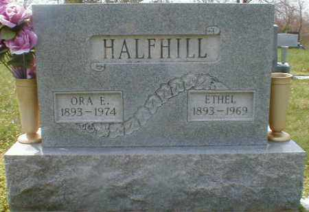 BAIRD HALFHILL, ETHEL - Gallia County, Ohio | ETHEL BAIRD HALFHILL - Ohio Gravestone Photos