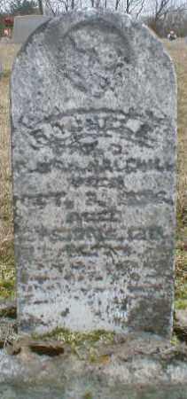 HALFHILL, RACHEL - Gallia County, Ohio | RACHEL HALFHILL - Ohio Gravestone Photos