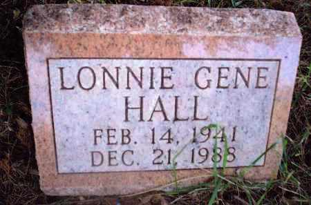 HALL, LONNIE GENE - Gallia County, Ohio | LONNIE GENE HALL - Ohio Gravestone Photos